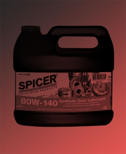 80W-140 Synthetic Gear Lubricant