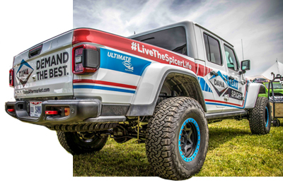 Genuine Dana and Spicer® OE Parts for Jeep® | Spicer Parts