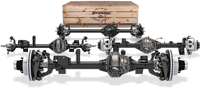 Crate Axle