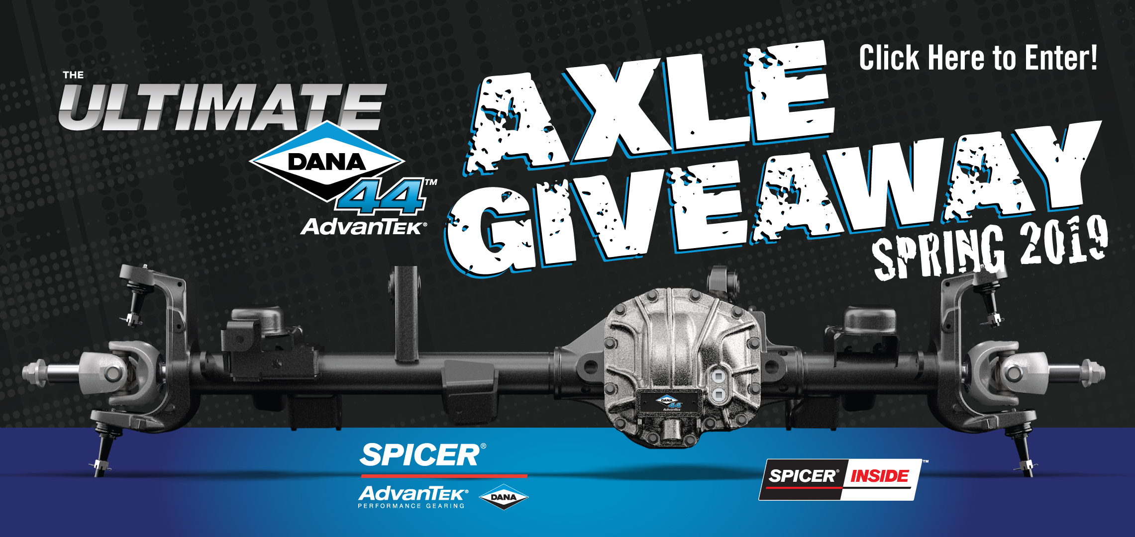 Spicer Axle Giveaway April 2019