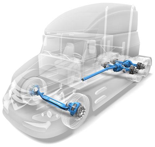 AdvanTEK® 40 Tandem Axles - Axle | Spicer Parts