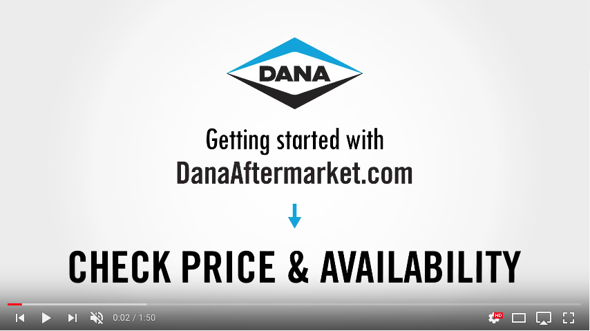 DanaAftermarket.com Check Price and Availability