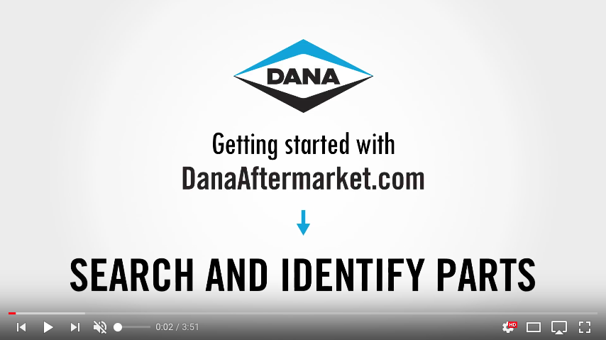 DanaAftermarket.com Search and Identify Parts