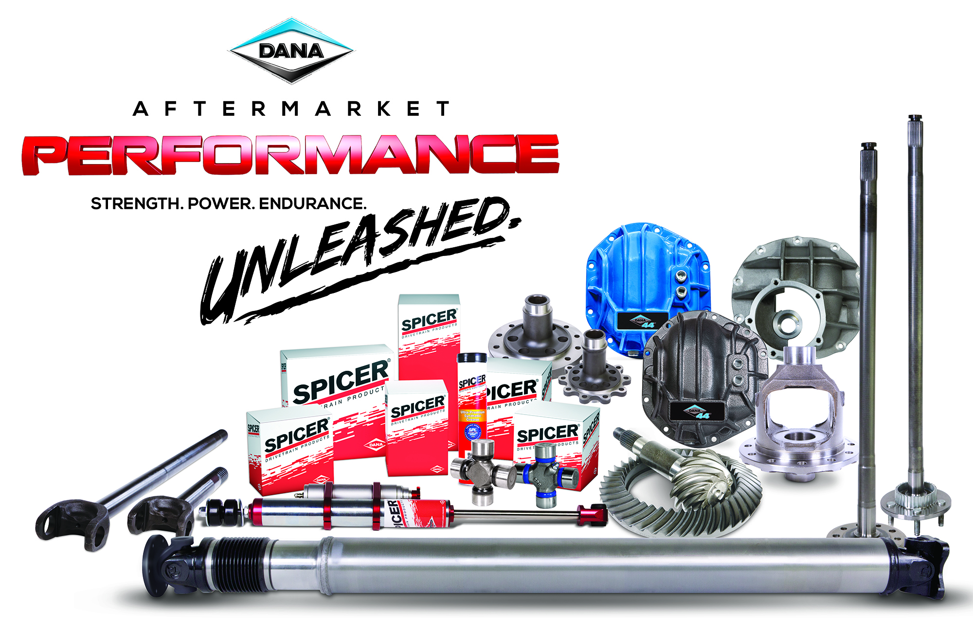 Dana Unleashed Performance Products