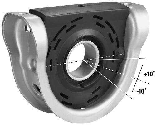 XC™ Center Bearing Assemblies - Driveshaft | Spicer Parts