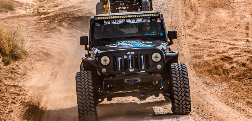 Jeep® Wrangler® Upgrades Pass the Test in the Utah Desert
