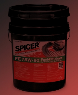 FE75W-90 Fuel-Efficient Synthetic Gear Lubricant