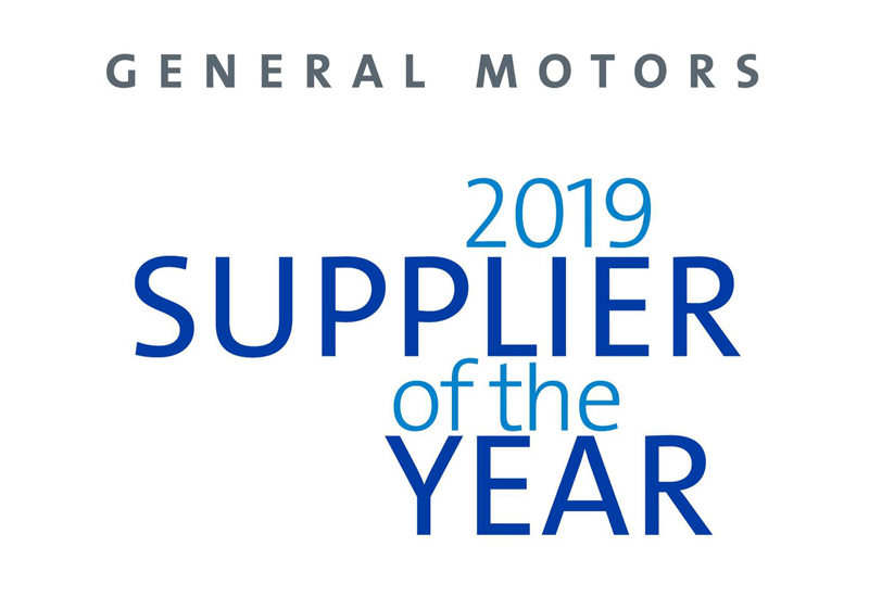Dana Recognized by General Motors as a 2019 Supplier of the Year