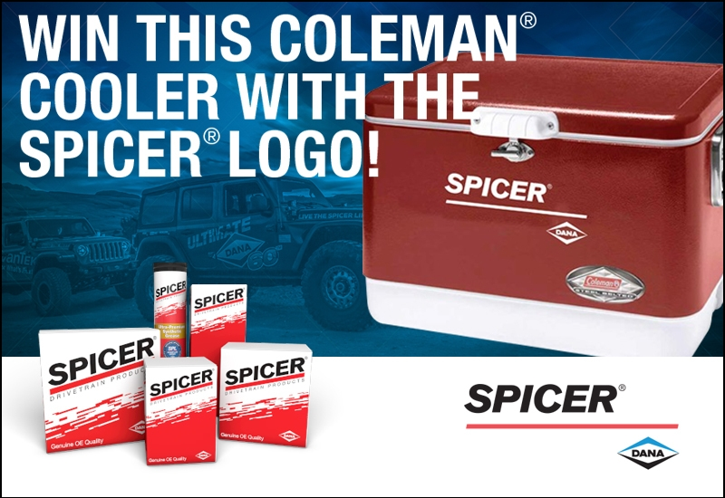 Dana Kicks Off Spicer® Cooler Contest