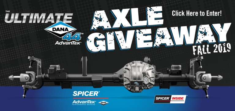 Axle Giveaway 2019