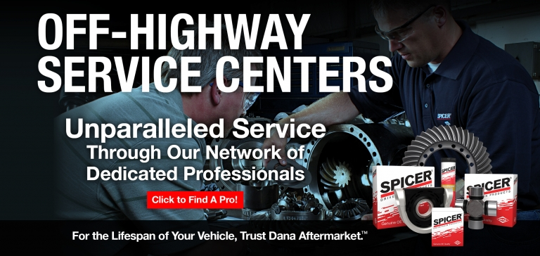 Off-Highway Service Centers