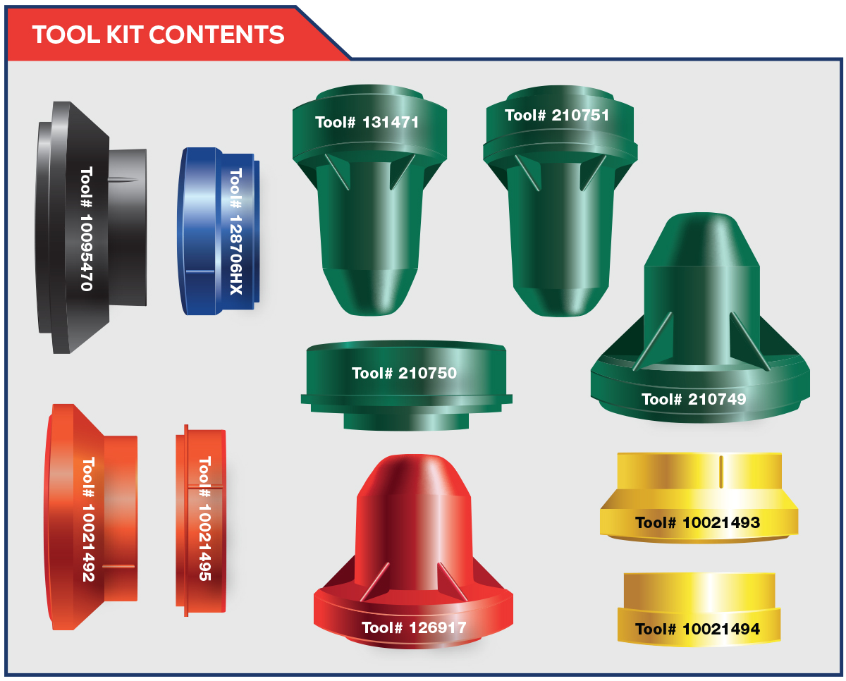 Spicer® Seal Installation Tool Kit - Axle | Spicer Parts